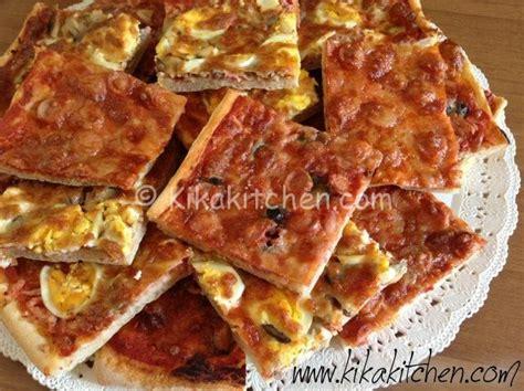pizza fatta  casa soffice  fragrante kikakitchen