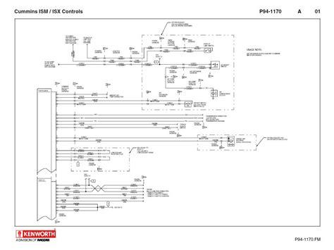 2013 Kenworth T660 Wiring Diagram by Kenworth T660 Cummins Ism Isx Schematics Manual Pdf