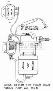 1953 buick brake maintenance hometown buick With vacuum pump schematic diagram additionally vacuum pump wiring diagram