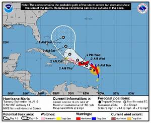 Hurricane Maria path LIVE UPDATES: Maria on track to smash ...