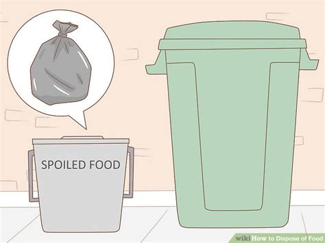 how to dispose of cooking 5 ways to dispose of food wikihow