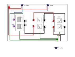 Outlet Box Wiring Diagrams