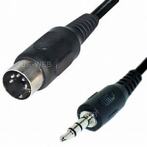 3 5mm Klinke Adapter : audio kabel 5pol din stecker auf 3 5mm klinke stecker 1 5m ~ Jslefanu.com Haus und Dekorationen
