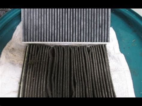 volvo  acc cabin air filter youtube