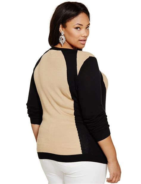 Killer Curves Sweater Womens Plus Size Tops Eloquii