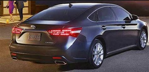 2019 Toyota Avalon Limited Edition  Toyota Specs And