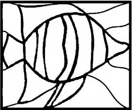 Tropical Fish Stained Glass Patterns