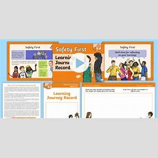 * New * Pshe And Citizenship  Y6 Safety First Learning Journey Record Lesson