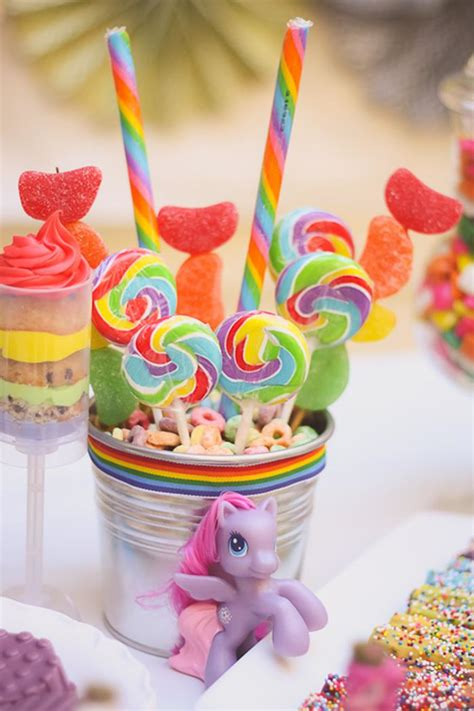 kara 39 s party ideas rainbow themed birthday party kara 39 s party ideas rainbow my pony party planning