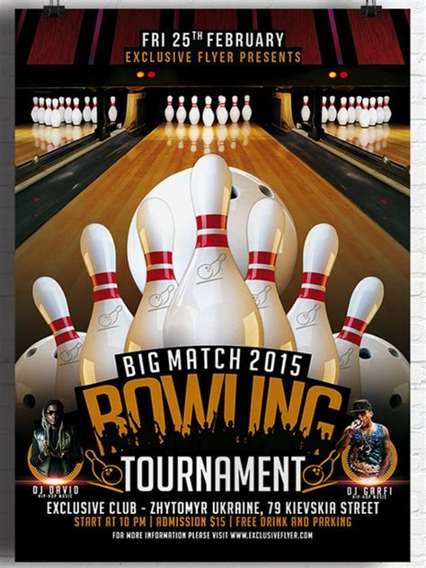 sample bowling invitation template   documents