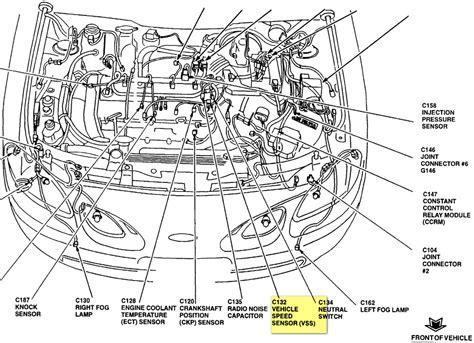 diagram 99 ford contour engine diagram