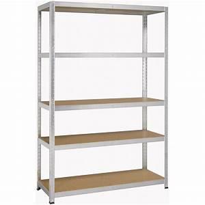 Etagere En Fer Pour Garage : etagere metal avasco racky ~ Edinachiropracticcenter.com Idées de Décoration