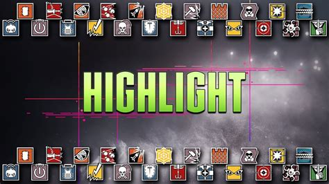 HIGHLIGHT 2 - Rainbow Six Siege R6 - Limpando o HD - YouTube