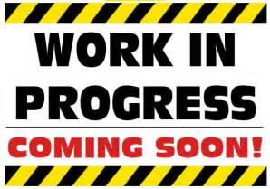 Work in Progress Sign Clip Art