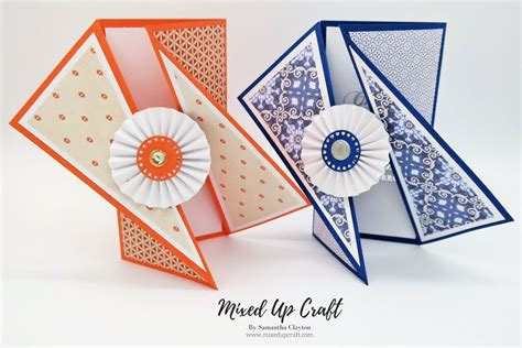 video tutorial stunning twisted gate fold cards