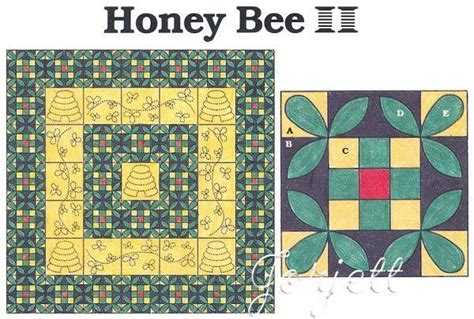 details  honey bee quilt block quilt quilt sewing