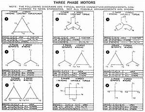 3 Phase Motor Wiring Diagram 12 Leads