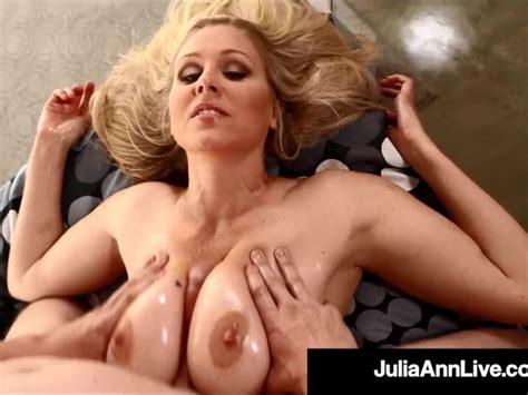 Mega Hot Mommy Milf Julia Ann Gets Tits Fucked By Big Dick