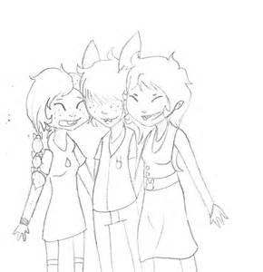 3 Best Friends Drawings