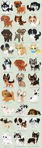 Chibi Dog Breeds by Yechii on DeviantArt