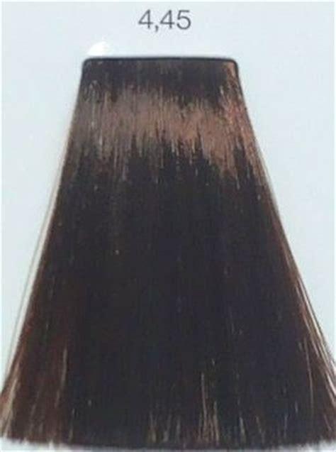 loreal inoa  copper mahogany brown hair colar