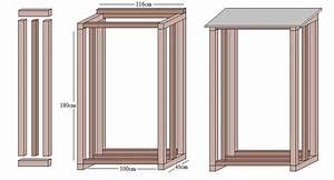 Regal Bauanleitung Holz : tipps und bauanleitung zur lagerung von brennholz ~ Michelbontemps.com Haus und Dekorationen
