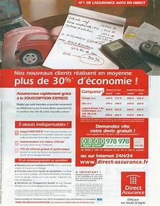 Assurance Direct Auto : publicit auto ~ Medecine-chirurgie-esthetiques.com Avis de Voitures