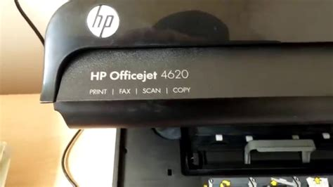 This manual comes under the category printers and has been rated by 1 people with an average of a 7.5. Quick fix for HP Officejet 4620 - YouTube
