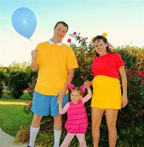 Winnie The Pooh Easy DIY Family Costumes Tip Junkie