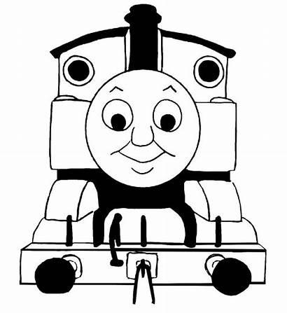 Train Thomas Clip Clipart Tank Percy Silhouette