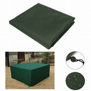 ipreer 196x114x71cm waterproof polyester 8 seater With garden furniture covers 8 seater
