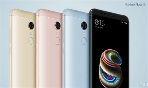 xiaomi redmi note 5 and redmi note 5 pro launched in india