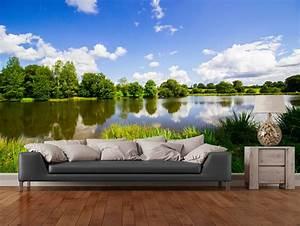 Aliexpresscom : Buy Custom Natural Wallpaper,Lush Nature ...