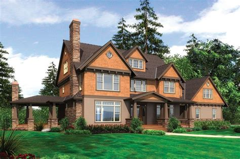This craftsman design floor plan is 3959 sq ft and has 4
