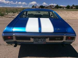 1970 Chevelle Ss427  4 C  Cow Induction  Gorgeous