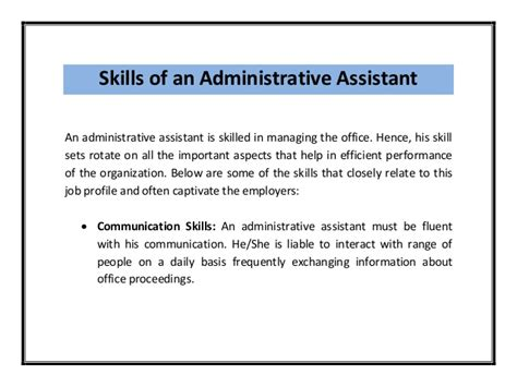 Skills To Add To Resume For Administrative Assistant by Administrative Assistant Resume
