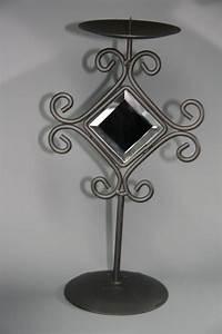 Spiegel Mit Kerzenhalter : kerzenhalter mit spiegel metall ~ Frokenaadalensverden.com Haus und Dekorationen