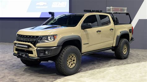 Check spelling or type a new query. Chevy Colorado ZR2 AEV and Race Development trucks roll ...
