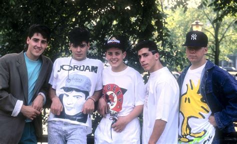 New Kids On The Block And Joey Mcintyre Talk '90s Fashion