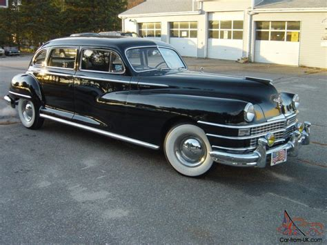 Chrysler Crown Imperial by 1948 Chrysler Crown Imperial Limousine