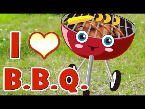 bbq song learn food vocabulary youtube  images