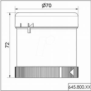 Werma 645 800 75  Acoustic Element  Buzzer 24 V Ac