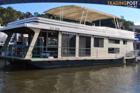 Houseboat Brooklyn by Lifestyle Plus On A Houseboat On The Hawkesbury For Sale
