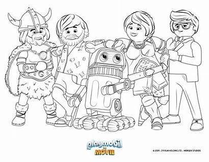 Playmobil Coloring Sheets Pages Printable Coloriage Fairy