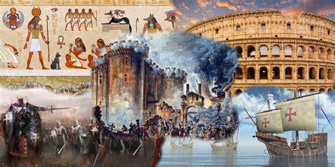 Eras Históricas - História da Humanidade - InfoEscola
