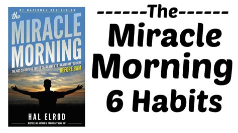 6 Morning Habits Of Successful People । The Miracle