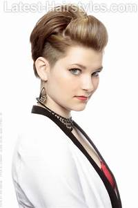 Short Hairstyles With Height And Volume