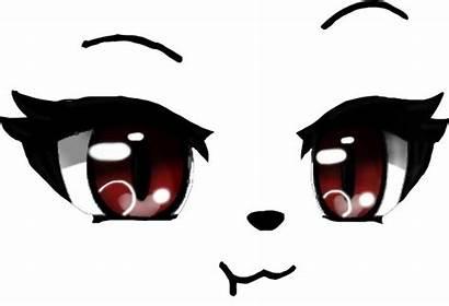 Eyes Gacha Drawing Anime Character Picsart Face