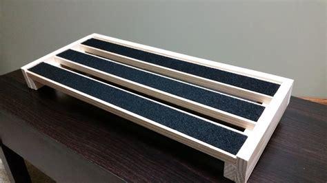 diy custom  pedalboard youtube