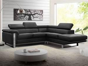 canape d39angle en cuir de vachette 4 coloris mystique With entretien d un canapé en cuir blanc